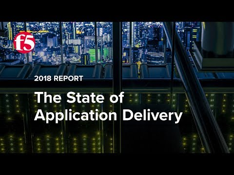 State of Application Delivery 2018 Overview