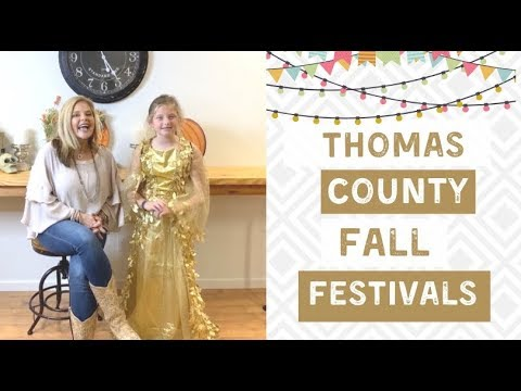 Fall Events in Thomas County 2019