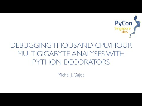 Image from Debugging thousand CPU hour multigigabyte analyses with Python Decorators