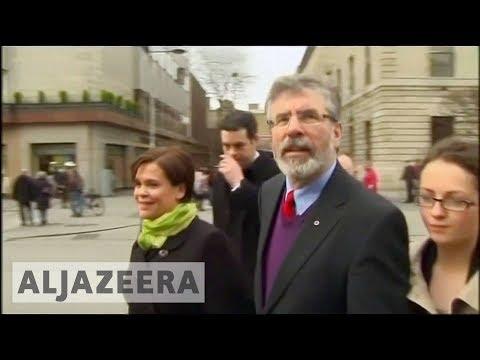 🇮🇪 Irish republican leader Gerry Adams retires