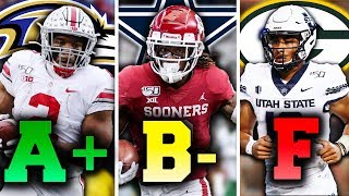 Grading EVERY Team in the 2020 NFL Draft