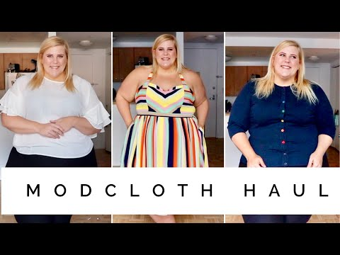 Modcloth Colorful Plus Size Haul + Try On