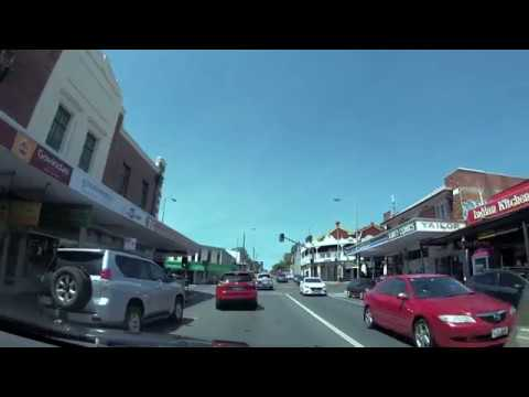 Drive Through West End, South Brisbane & Through The City - Gopro Black 7