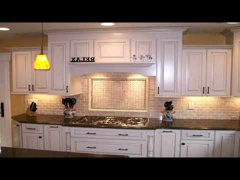 Pictures Of White Kitchen Cabinets With Dark Granite Countertops