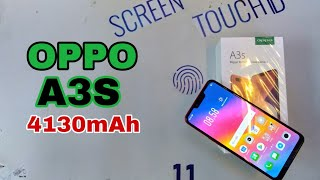 UNBOXING HP OPPO A3S RED 2018 Indonedia