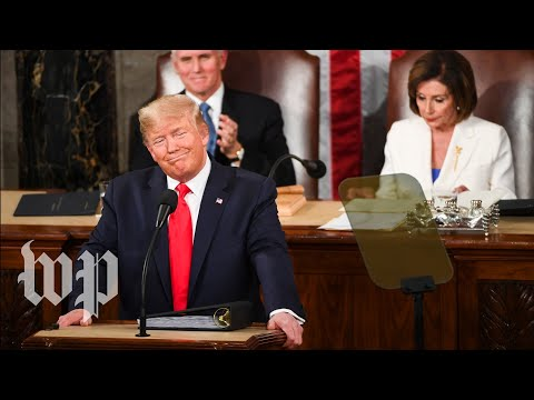 Trump's most dramatic moments from his 2020 State of the Union address