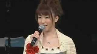 Ultima parte del evento de Maria Sama ga Miteru... Luego de que termino el evento las seiyuus se reunieron. seiyūs: -Yumi Fukusawa: Kana Ueda 植田 佳奈 ...