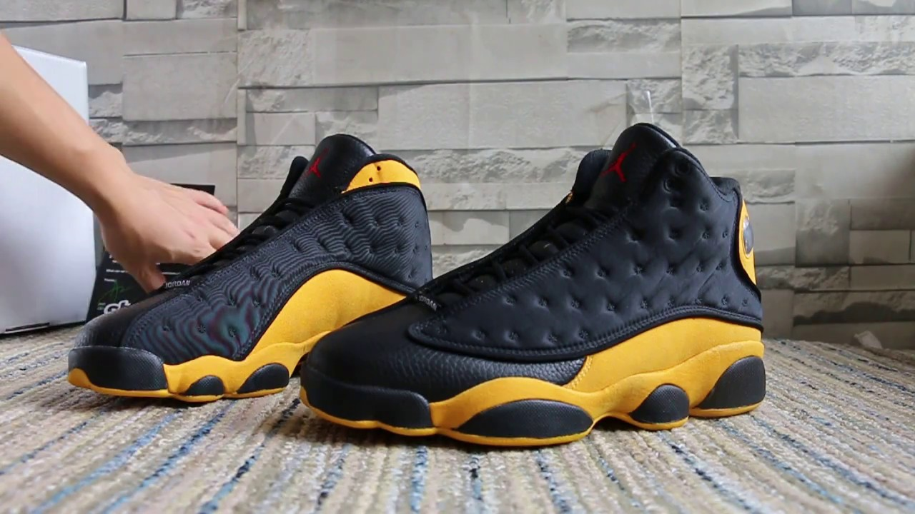 7de02c1ff593ca Air Jordan 13 Carmelo Anthony Class Of 2002 HD Review - YouTube
