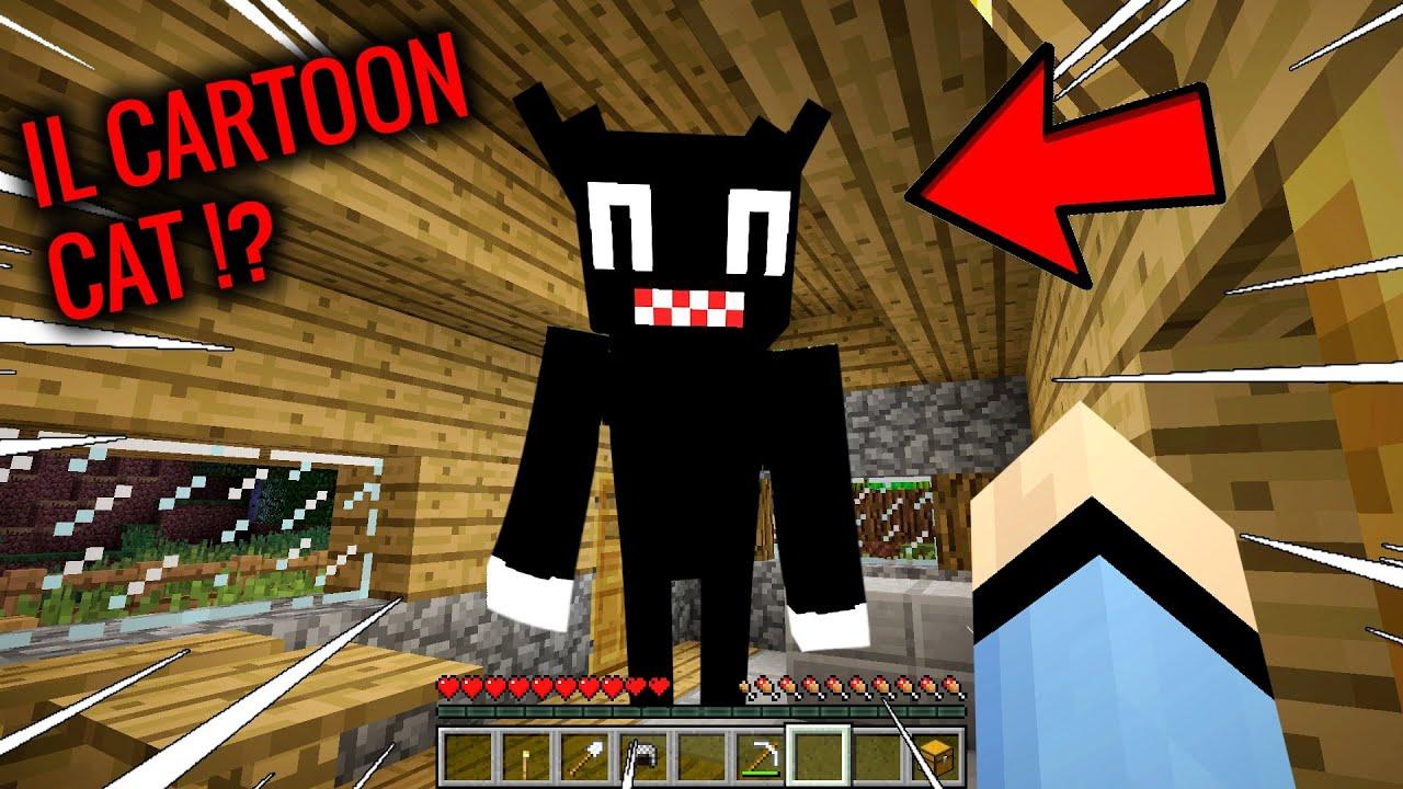 NON CERCARE IL CARTOON CAT SU MINECRAFT !!!