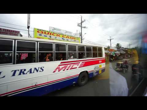 Philippines, Aircon bus ride from SM City San Jose Del Monte to Robinson Fairview