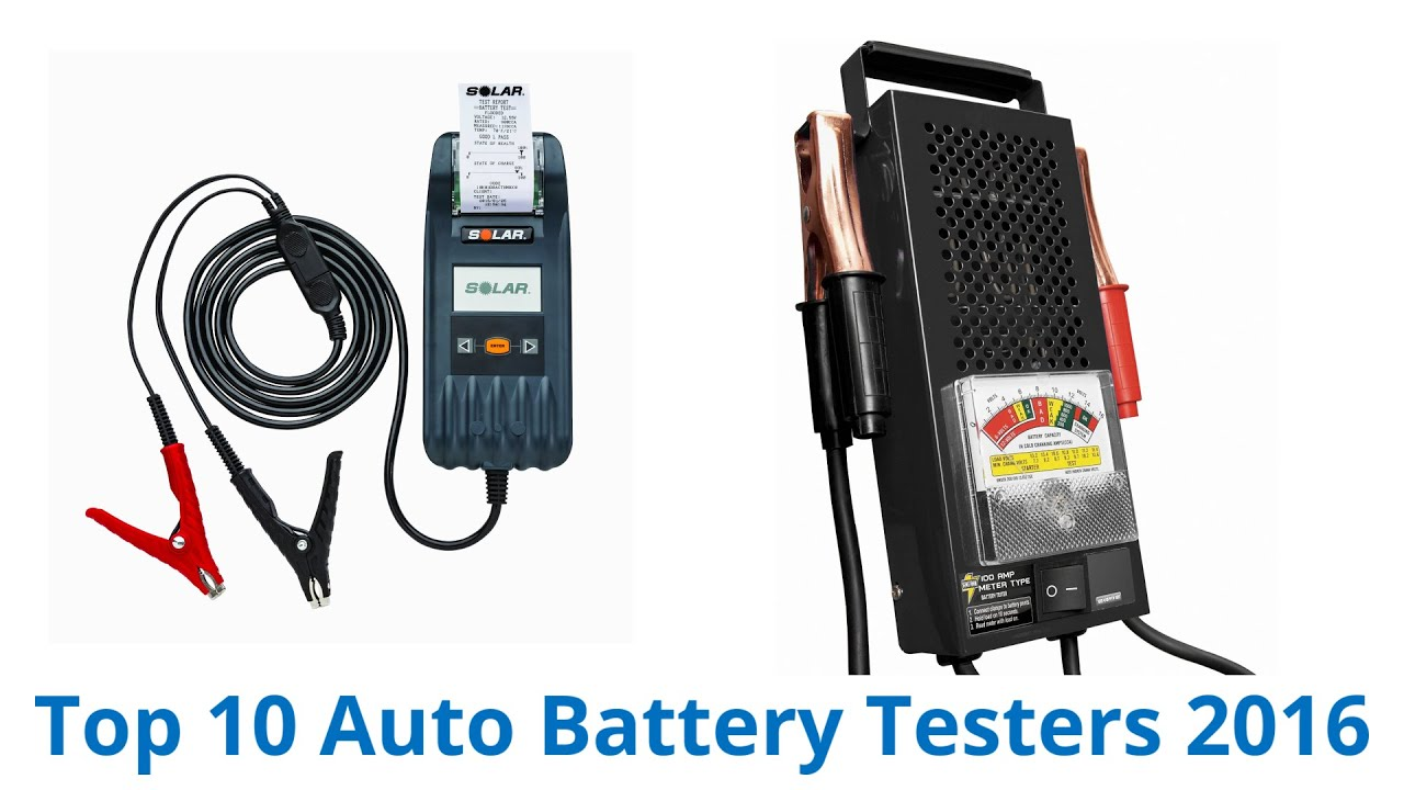 Auto Battery Tester Product : Best auto battery testers youtube