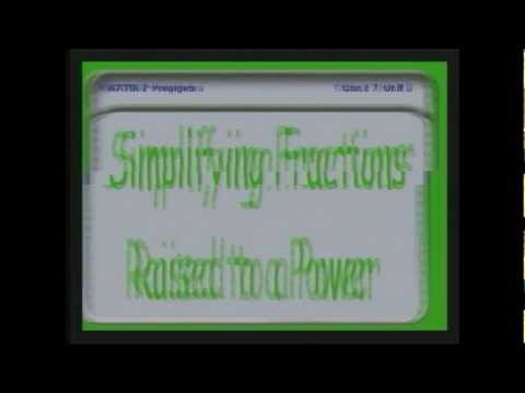 30 -  Multiplying and Reducing Fractions