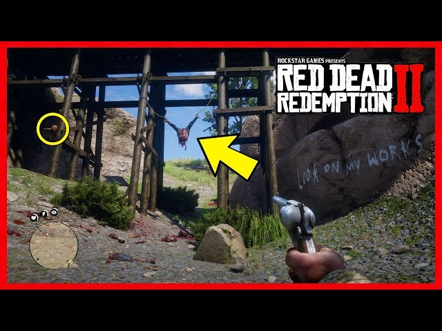 Red Dead Redemption 2 Easter Egg - Serial Killer FOUND! Look On My Works Murder Mystery Clues!
