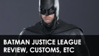 BATMAN JUSTICE LEAGUE REVIEW, CUSTOMS, ISSUES, TUTORIAL, ETC