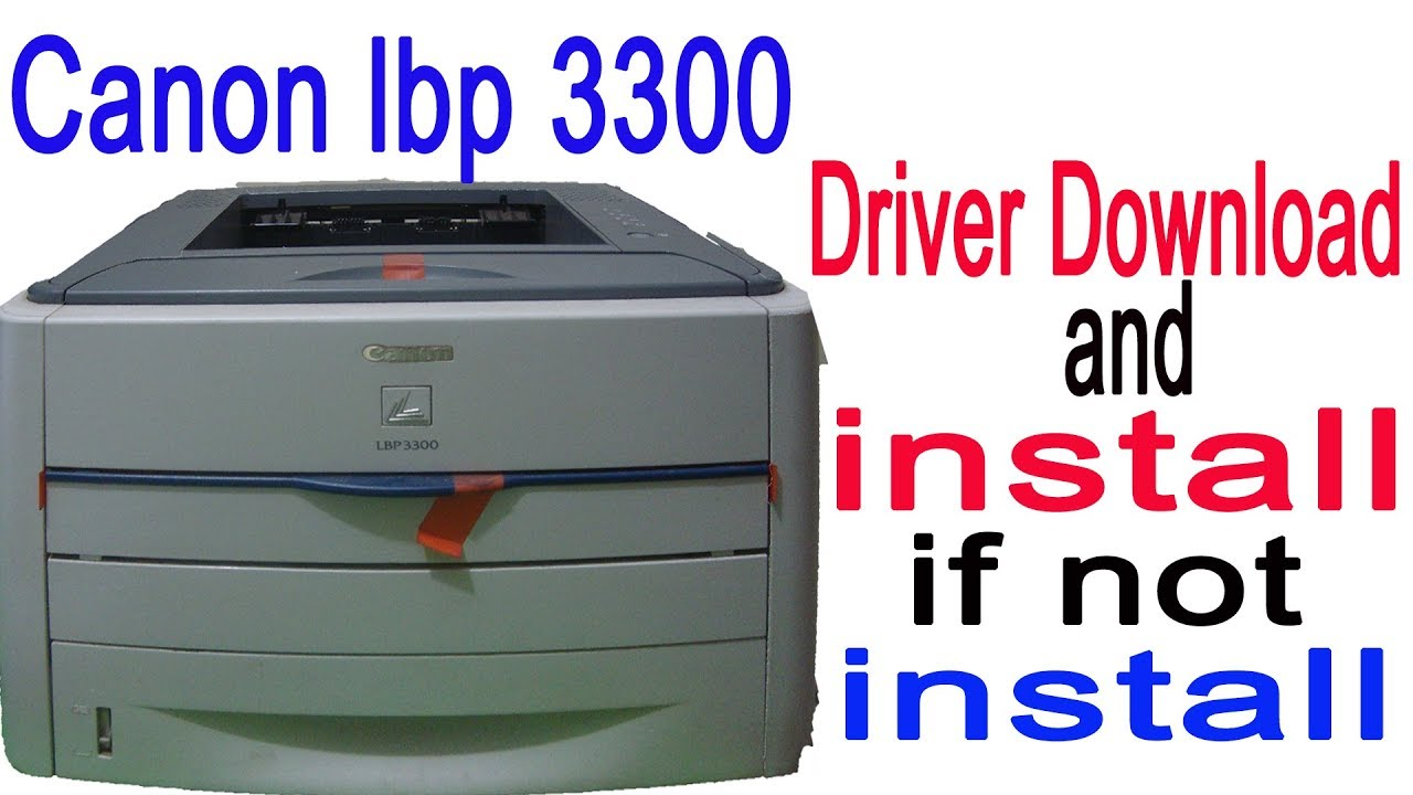LBP 3300 CANON PRINTER TREIBER WINDOWS 7
