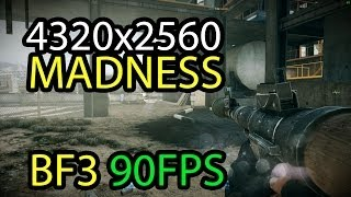 Battlefield 3: 4k (4320x2560) Operation Firestorm Gameplay - 3x Radeon R9 290 Crossfire