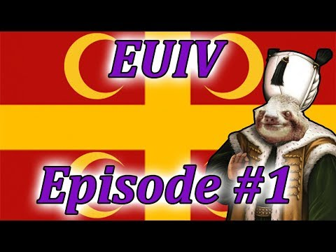 Let's Play EUIV Turks to Byzantines!? Episode 1 (The Unholy Union)