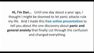 Dealing With Panic Attacks And Anxiety