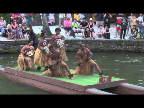 Fiji Dance at Polynesian Cultural Center Hawaii