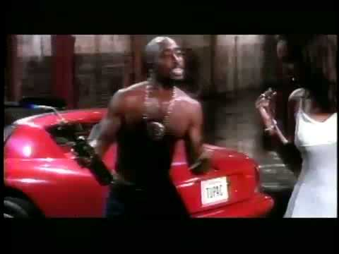 Tupac shakur & Lisa raye  Toss it up Music video.