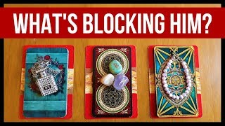 WHAT'S BLOCKING THEM FROM COMING FORWARD? ❤️ *Pick A Card* Love Relationship Tarot Reading Timeless
