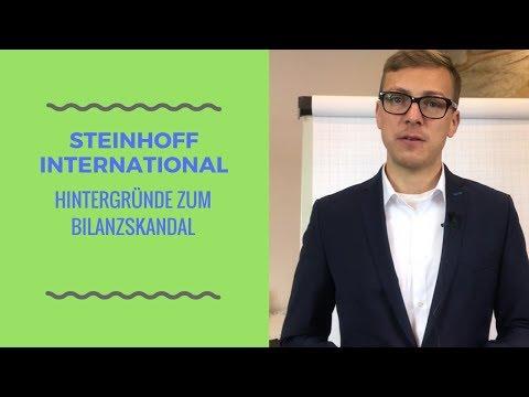 Steinhoff International Holdings und der aktuelle Bilanzskandal