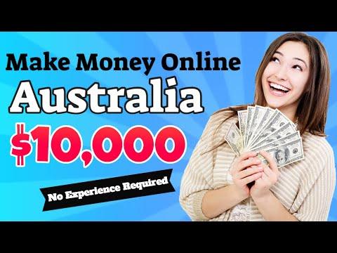 How To Make Money Online In Australia 2020 - Work From Home Jobs Australia