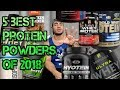 5 BEST Protein Powders For Weight Loss and Muscle Gain in 2018