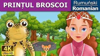PRINȚUL BROSCOI - Basm - Poveste de adormit copii - Desen animat - 4K - Romanian Fairy Tales