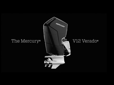 Introducing the new Mercury Marine V12 600hp Verado Outboard