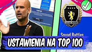 NAGRODY ZA NAJWYŻSZĄ ELITĘ + USTAWIENIA NA TOP 100! - FIFA 19 SQUAD BATTLES
