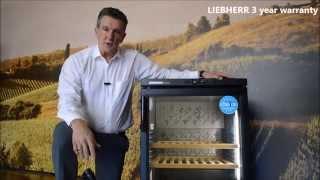 liebherr barrique wkb 1712 freestanding single zone wine cellar
