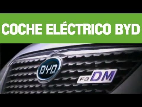 Coche electrico BYD F3DM - Nuevo coche electrico de BYD Auto