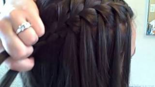 One of Cute Girls Hairstyles's most viewed videos: The Waterfall Braid (DIY) | Cute Girls Hairstyles