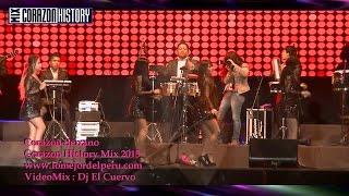 MIX CORAZON SERRANO 2015 - DJ EL CUERVO AMOR REBELDE,CUENTALE A LA LUNA,DOS CERVECITAS