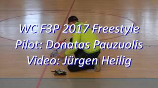 F3P Strasbourg 2017 Freestyle - Donatas Pauzuolis
