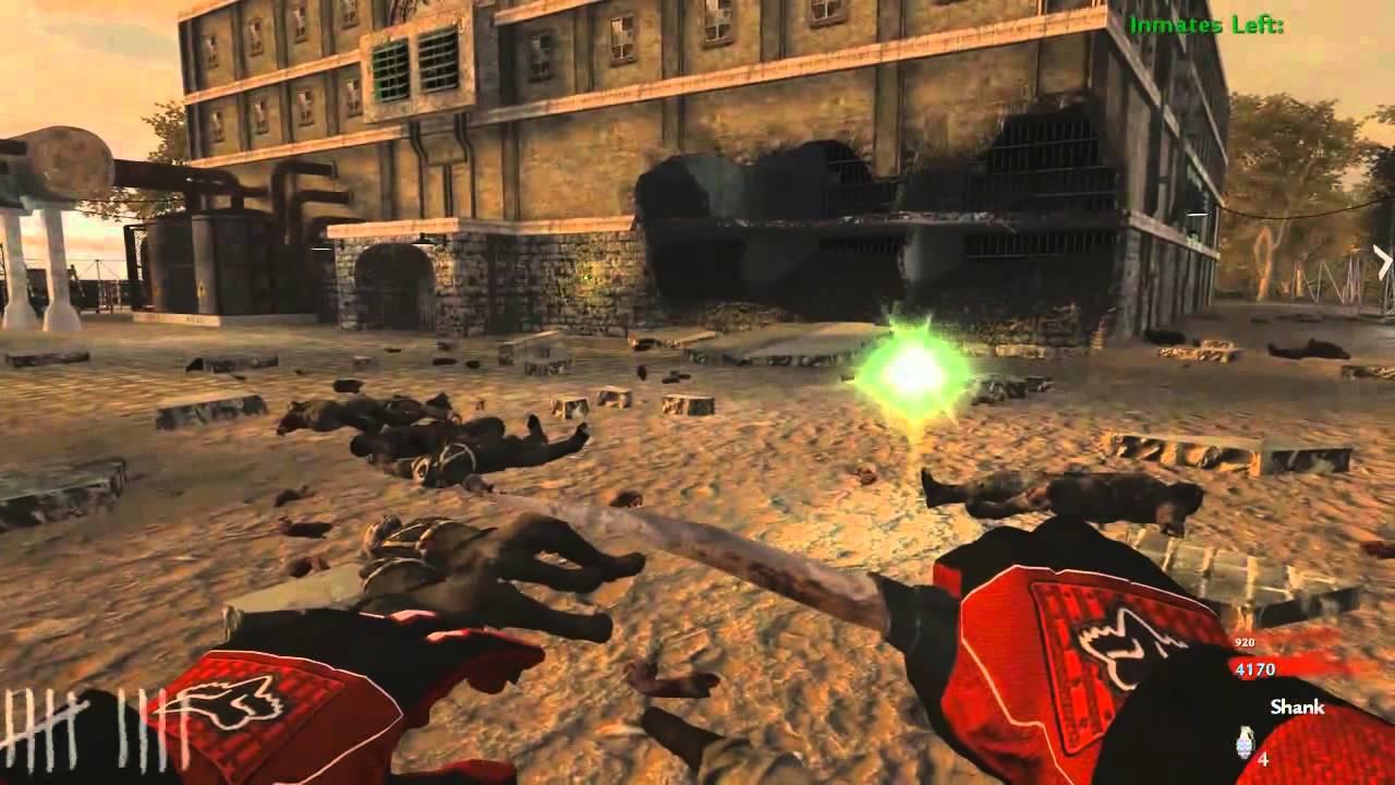 Cod Waw Zombies Custom Maps En Alcatraz Con Poker Parte 1 Youtube
