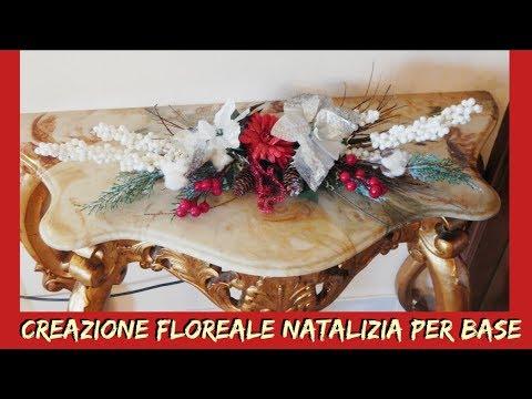 CREAZIONE FLOREALE NATALIZIA PER BASE- NUNZIA VALENTI