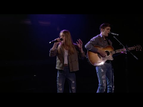"Juna N Joey Duet Luke Combs ""Beautiful Crazy"" America's Most Musical Family Premiere"