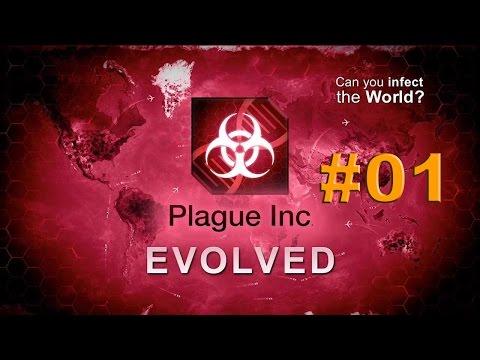 Let's Play Plague Inc Evolved #001 [Deutsch] [HD]Bakterien überall