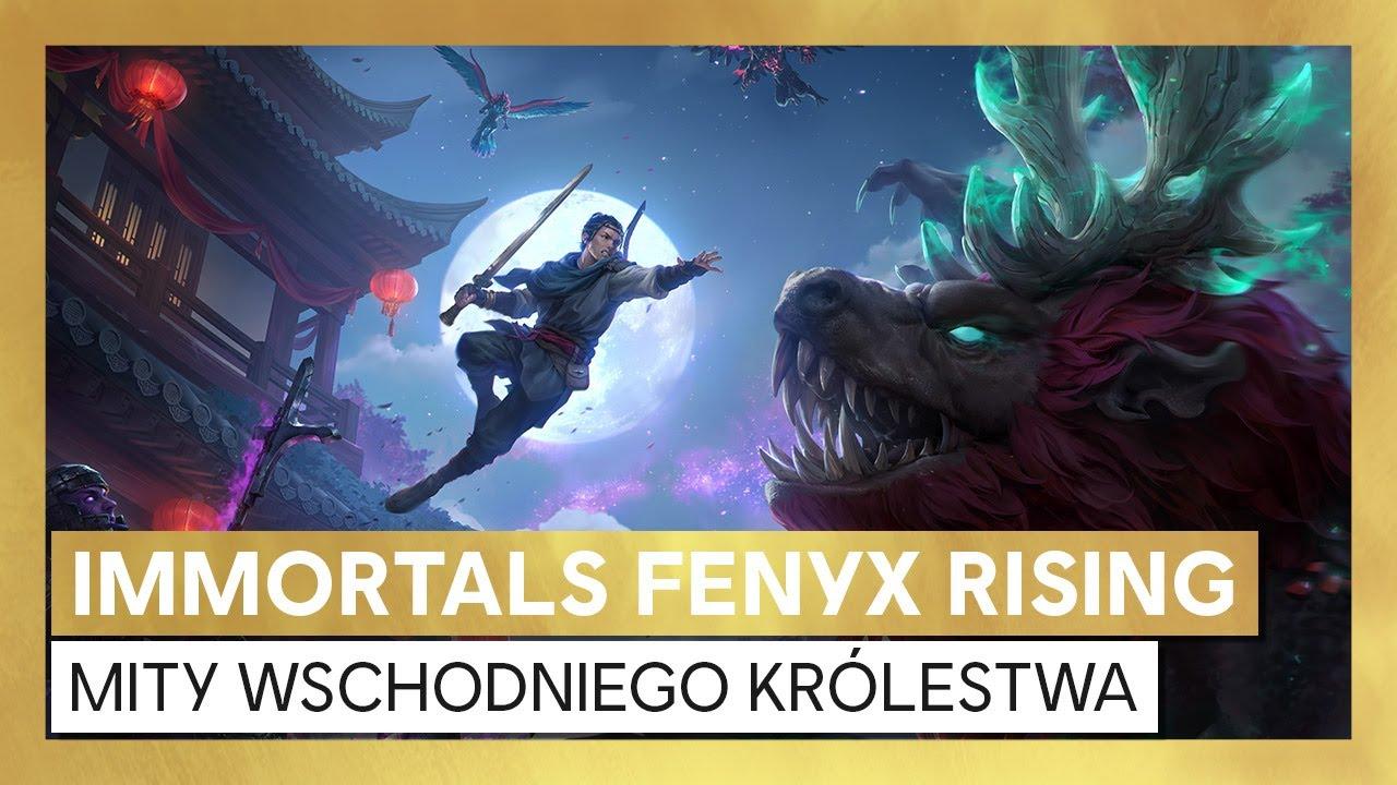 Immortals Fenyx Rising: Mity wschodniego królestwa - zwiastun premierowy