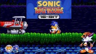 Sonic The Hedgehog Triple Trouble 16-Bit Fan Game Demo