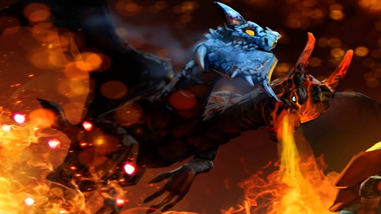 DotA 2 Sounds Jakiro The Twin Head Dragon Voice ALL OF