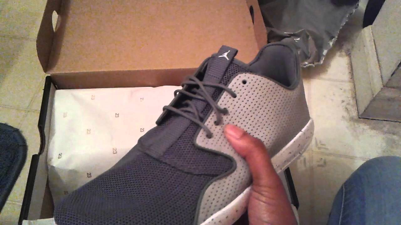 89bd930198c Air Jordan eclipse unboxing wolf grey  cool grey - YouTube