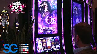 Cher Live Slot Machine from Scientific Games