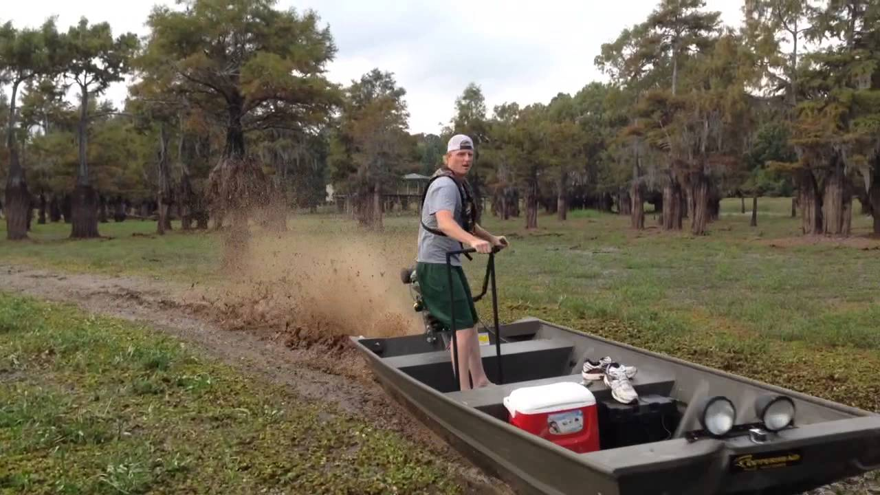 Copperhead 23hp Mud Motor Getting It Done Youtube