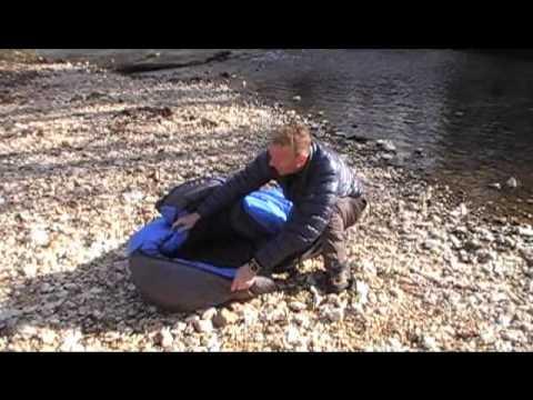 d1a8b787e855 Western Mountaineering Puma Sleeping Bag - YouTube