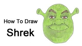 shrek drawing lesson