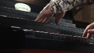 Willem van Twillert CORNET VOLUNTARY in F (Free Sheet music) Ibach-organ Bergen op Zoom [NL]