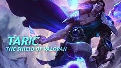 Taric: Champion Spotlight   Gameplay - League of Legends